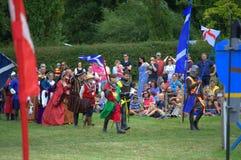 Βασιλική πομπή Hever Castle Αγγλία Στοκ Εικόνες