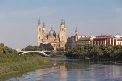 Βασιλική Σαραγόσα στην Ισπανία Στοκ εικόνες με δικαίωμα ελεύθερης χρήσης