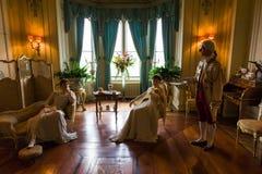 Βασιλική σκηνή καθιστικών Στοκ φωτογραφίες με δικαίωμα ελεύθερης χρήσης