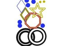 Βασιλική τέχνη αστεριών Στοκ εικόνα με δικαίωμα ελεύθερης χρήσης
