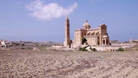 Βασιλική της εθνικής λάρνακας της ευλογημένης Virgin του TA ` Pinu και Maltiese φιλμ μικρού μήκους