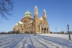 Βασιλική της ιερής καρδιάς, Βρυξέλλες Στοκ φωτογραφία με δικαίωμα ελεύθερης χρήσης
