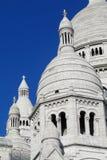 Βασιλική της ιερής καρδιάς του Παρισιού σε Montmartre Στοκ Εικόνα