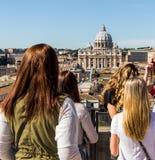 Βασιλική της Ιταλίας, Ρώμη, ST Peter Στοκ Εικόνες