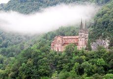 Βασιλική της Σάντα Μαρία, Covadonga, αστουρίες, Ισπανία Στοκ φωτογραφία με δικαίωμα ελεύθερης χρήσης