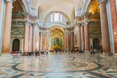 Βασιλική της Σάντα Μαρία Degli Angeli Ε Dei Martiri στη Ρώμη Στοκ Εικόνα