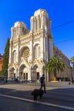 Βασιλική της Notre Dame στη Νίκαια Στοκ Φωτογραφίες