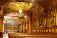 Βασιλική της Notre-Dame του Μόντρεαλ, Μόντρεαλ στοκ εικόνες