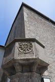 Βασιλική του alla Rocca του ST Francesco. Βιτέρμπο. Λάτσιο. Ιταλία. στοκ φωτογραφία