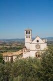 Βασιλική του d'Assisi του ST Francesco. Ουμβρία. Ιταλία. στοκ φωτογραφία με δικαίωμα ελεύθερης χρήσης