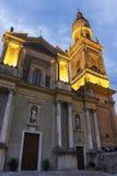 Βασιλική του Saint-Michel Archange, Menton, Γαλλία Στοκ Εικόνα