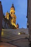 Βασιλική του Saint-Michel Archange, Menton, Γαλλία Στοκ εικόνα με δικαίωμα ελεύθερης χρήσης