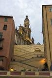 Βασιλική του Saint-Michel Archange, Menton, Γαλλία Στοκ Εικόνες