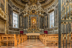 Βασιλική του SAN Domenico - Rosary παρεκκλησι στη Μπολόνια Στοκ φωτογραφίες με δικαίωμα ελεύθερης χρήσης