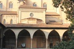 Βασιλική του ST Anthony - μια άποψη από το εσωτερικό μοναστήρι - Πάδοβα, Ιταλία Στοκ Εικόνα