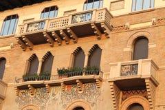 Βασιλική του ST Anthony - μια άποψη στις γειτονιές - Πάδοβα, Ιταλία Στοκ Εικόνα