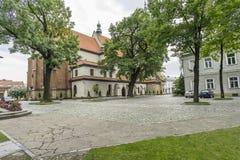 Βασιλική του ST Margaret σε Nowy Sacz Στοκ φωτογραφίες με δικαίωμα ελεύθερης χρήσης