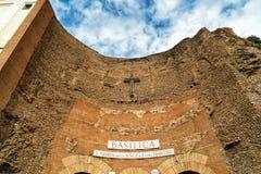 Βασιλική του ST Mary των αγγέλων και των μαρτύρων, Ρώμη Στοκ φωτογραφία με δικαίωμα ελεύθερης χρήσης
