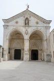 Βασιλική του ST Michael σε Monte Sant'Angelo στην Πούλια Στοκ φωτογραφία με δικαίωμα ελεύθερης χρήσης
