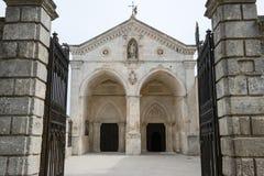 Βασιλική του ST Michael σε Monte Sant'Angelo στην Πούλια Στοκ εικόνα με δικαίωμα ελεύθερης χρήσης