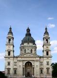 Βασιλική του ST Stephen στη Βουδαπέστη στοκ εικόνα