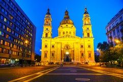 Βασιλική του ST Stephen στη Βουδαπέστη, Ουγγαρία Στοκ Εικόνα