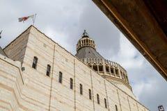 Βασιλική Annunciation, εκκλησία Annunciation, Ναζαρέτ Στοκ εικόνα με δικαίωμα ελεύθερης χρήσης