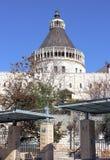 Βασιλική Annunciation, Ναζαρέτ, Ισραήλ Στοκ εικόνες με δικαίωμα ελεύθερης χρήσης