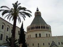 Βασιλική Annunciation σε Nazareth, Ισραήλ Στοκ Εικόνα