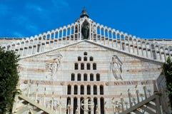 Βασιλική Annunciation στη Ναζαρέτ, Ισραήλ Στοκ Φωτογραφίες