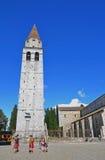 Βασιλική Aquileia, Ιταλία (ΟΥΝΕΣΚΟ) Στοκ φωτογραφία με δικαίωμα ελεύθερης χρήσης