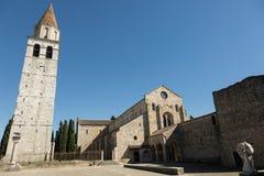 Βασιλική Aquileia, Ιταλία Στοκ Εικόνα