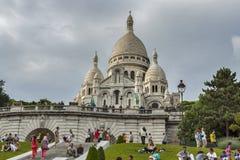 Βασιλική Coeur Sacre στο Παρίσι Στοκ Εικόνα