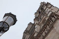 Βασιλική Notre Dame, Παρίσι Στοκ Φωτογραφία
