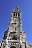 Βασιλική Notre Dame της φρουράς Μασσαλία Στοκ εικόνα με δικαίωμα ελεύθερης χρήσης