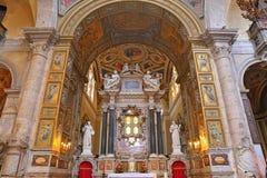 Βασιλική Parrocchiale Σάντα Μαρία del Popolo Στοκ Φωτογραφίες