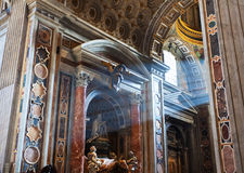 βασιλική Peter s ST Στοκ εικόνα με δικαίωμα ελεύθερης χρήσης