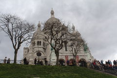 Βασιλική Sacre Coeur Στοκ Εικόνες