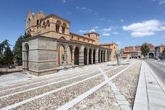 Βασιλική SAN Vicente Avila, Ισπανία Στοκ φωτογραφία με δικαίωμα ελεύθερης χρήσης