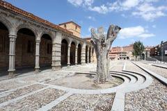 Βασιλική SAN Vicente Avila, Ισπανία Στοκ Εικόνες
