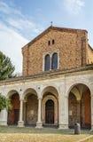 Βασιλική Sant Apollinare Nuovo, Ραβένα Ιταλία Στοκ εικόνα με δικαίωμα ελεύθερης χρήσης
