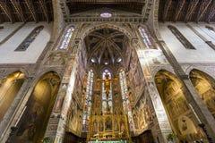 Βασιλική Santa Croce, Φλωρεντία, Ιταλία στοκ φωτογραφία με δικαίωμα ελεύθερης χρήσης