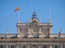 βασιλικοί παίρνοντας τουρίστες εικόνων palacio παλατιών de Μαδρίτη oriente Στοκ Φωτογραφίες