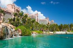 Βασιλικοί πύργοι Atlantis, Nassau, Μπαχάμες Στοκ Εικόνες