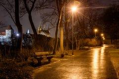 Βασιλικός κήπος, Πράγα Στοκ φωτογραφία με δικαίωμα ελεύθερης χρήσης