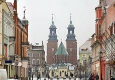 Βασιλικός καθεδρικός ναός Gniezno Στοκ Εικόνες