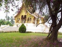 Βασιλικός ναός σε Luang Prabang Στοκ Φωτογραφίες
