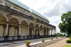 Βασιλικός πανοραμικός πυργίσκος θερινών παλατιών στην Πράγα Στοκ Εικόνες
