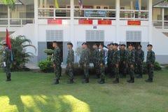 Βασιλικός στρατός Ταϊλάνδη Στοκ φωτογραφία με δικαίωμα ελεύθερης χρήσης