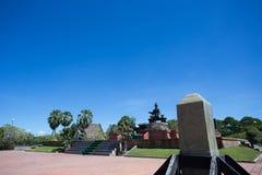 Βασιλικό άγαλμα του βασιλιά Ramkhamhaeng ο μεγάλος Στοκ εικόνες με δικαίωμα ελεύθερης χρήσης